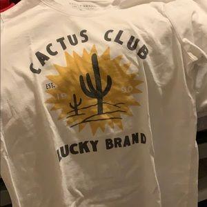 Lucky Brand Cactus Club T-shirt